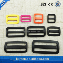 Various size and color Multifunctional small plastic tri-glide buckles