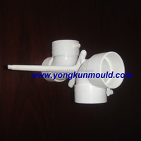 Plastic drainage mould making, pvc fitting mold making, pvc pipe fitting
