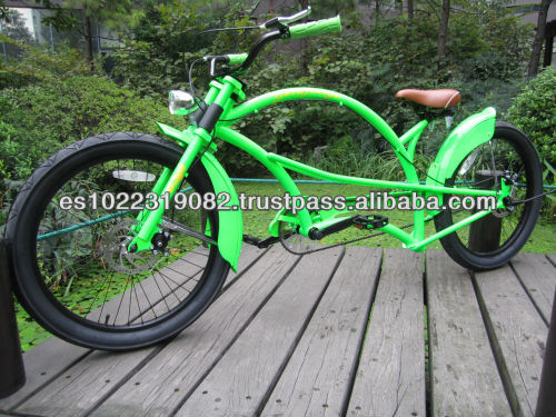 24 inch classic colorful frame adult chopper bicycle