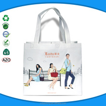 Open sexy girl full photo glossy laminated tote bag wholesales