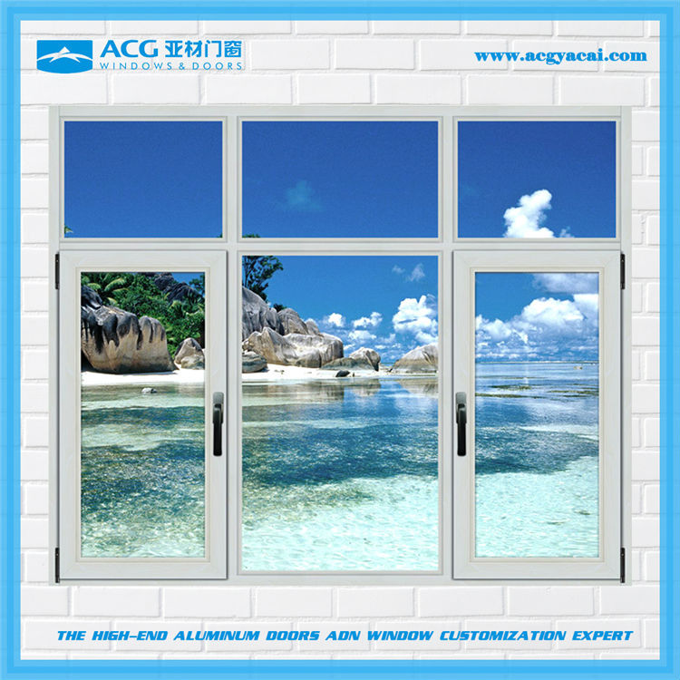 Wholesale High Quality Spacious Aluminum Casement Windows