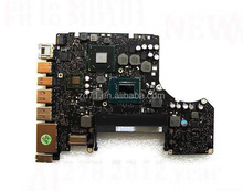 Original i5-3210M 2.5Ghz CPU logic board A1278 661-6588 820-3115-B Mid-2012 motherboard