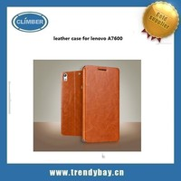 Mofi brand china new arrive leather phone case for lenovo A7600 wholesale