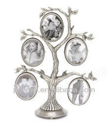 Exquisite Metal Family Tree Photo Frame