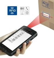 quad core android industrial pda smartphone with barcode scanner