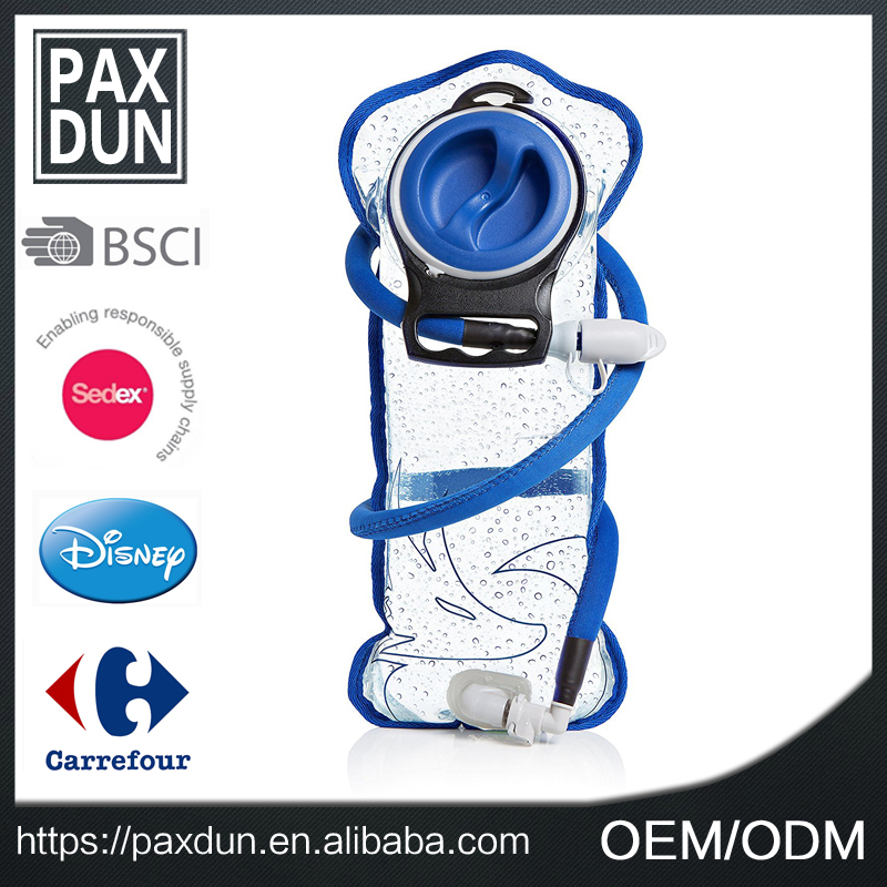 custom trekking tactical camping water bag water bladder 3L for outdoor sports hydration backpack water bag bladder