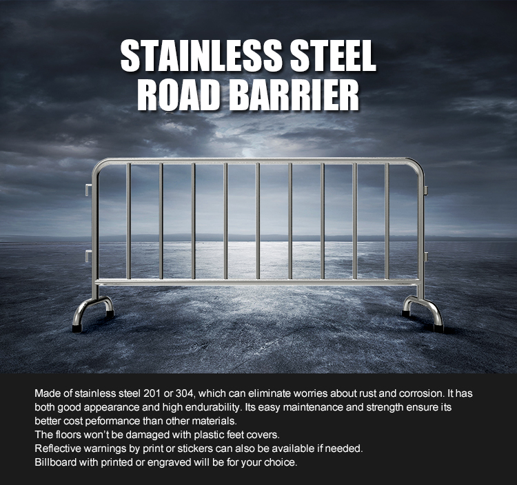 Steel Road Barrier (1)