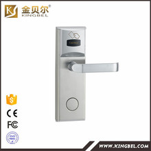 RFID RF Card Reader Hotel Door Lock With Complete System for Hotel Guest Room