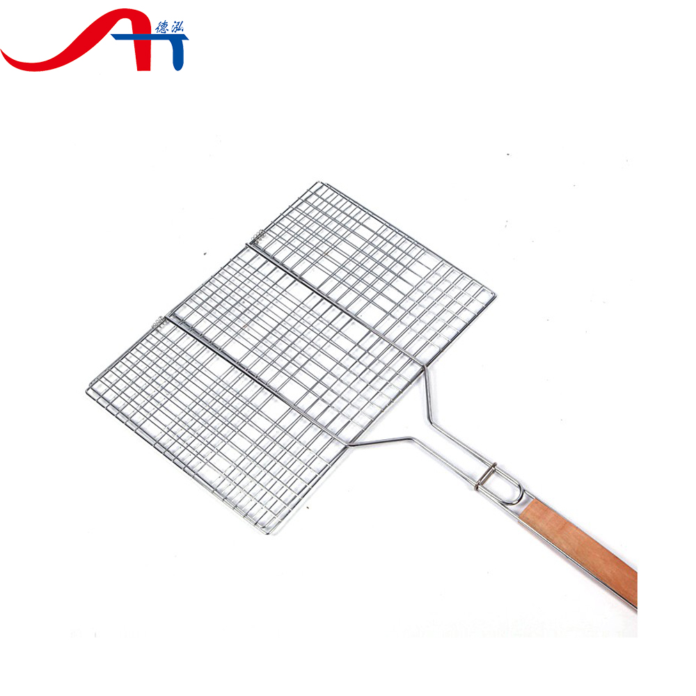 square 304ss stainless steel barbecue wire mesh(factory)
