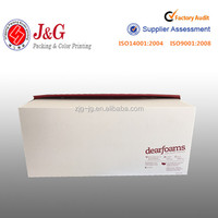 OEM rectangle corrugated cardboard box for shoes