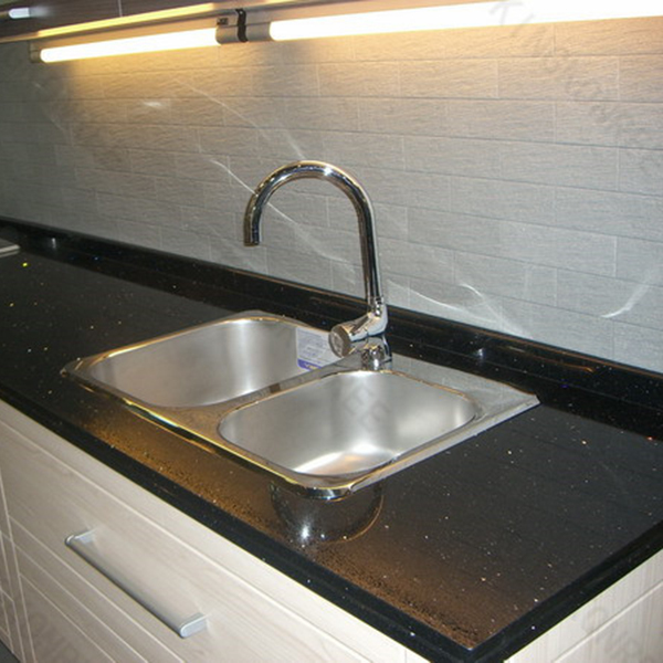 Blue Quartz Kitchen Countertops: Kitchen Countertop Crystal White Quartz
