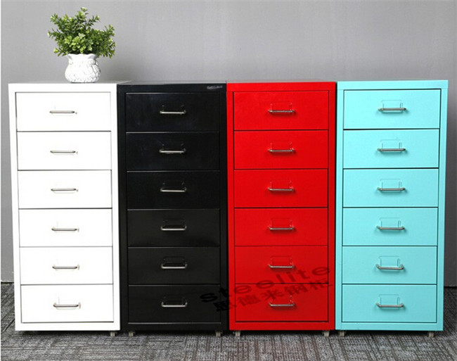 Modern Furniture Luoyang Metal 6 Drawer Flat Filing