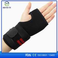 2015 new products tennis wristband , breathable palm support , high quality wrist brace