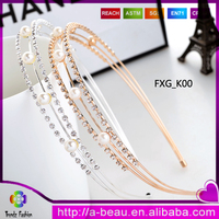 Fashion Simple Style Hair Accessories With Crystal Rhinestone FXG_K00