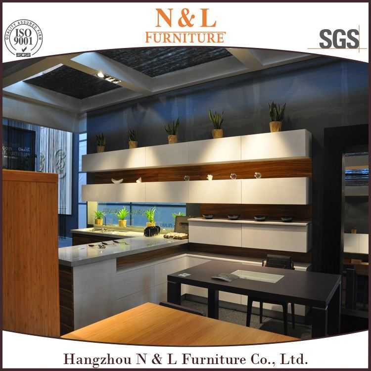 2017 New Arrival Hangzhou High Gloss Modern Kitchen Designs second hand kitchen cabinets