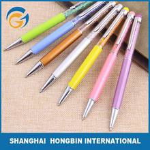2016Hot Selling Mini Easy Take Soft Foam EVA Short Sport Mini Metal Ball Pen