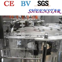 24 filling heads for perfect pure water filling and sealing machine / line / unit in sheenstar