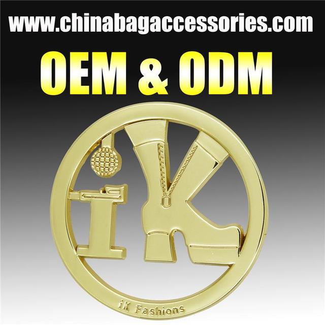 CR-MLD858-bag accessories Plastic crystal small metal plates