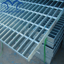 Guangzhou Factory Free Sample 30x3 heavy duty galvanized Steel floor Grating