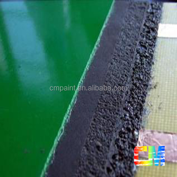 epoxy floor paint- impast resistance color sand epoxy floor coating for factory
