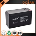 Rechargable modern design 12v 7ah modern design sealed lead acid battery 12v