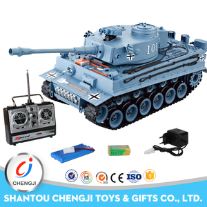 High quality new fashion 1:20 remote control tiger tank with sound