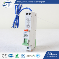 SHUNTE Best Brand Manufacturer European 10KA 2 Pole Electrical Mini Circuit Breaker RCBO