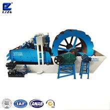 100tph compact structure sand washer from china manufacturer lzzg