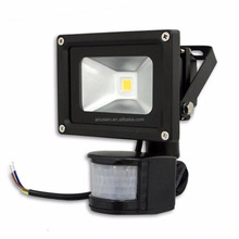 wholesale 10W 20W 30W 50W LED PIR Motion Sensor Flood Light IP65 Induction Lamp