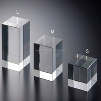Customized Wholesale Clear Acrylic Blocks Crafts