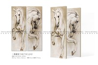 Home wall art living room decoration drawing canvas 3d picture horse