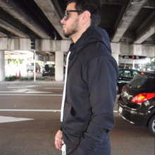 Men Black hoody wholesale sweat suit with a White Adjustable Drawstring /hoody jogging suit/Front Pocket hoody jacket nepal