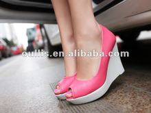 2012 summer women wedge stock shoes ho623