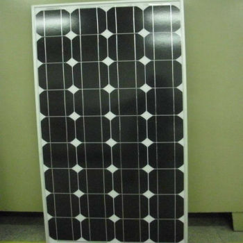 130W Mono Solar Panel with competitive price