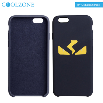 Factory Newest ! Private mould design for mosaic vision logo soft Silicone phone case for iphone 6/ 6s