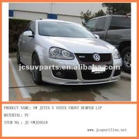 for Jetta (Sagita) front bumper lip Votex style