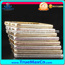 0.7mm Luxury diamond bumper case for iPhone 5/5s,for iPhone 5 5s bumper case