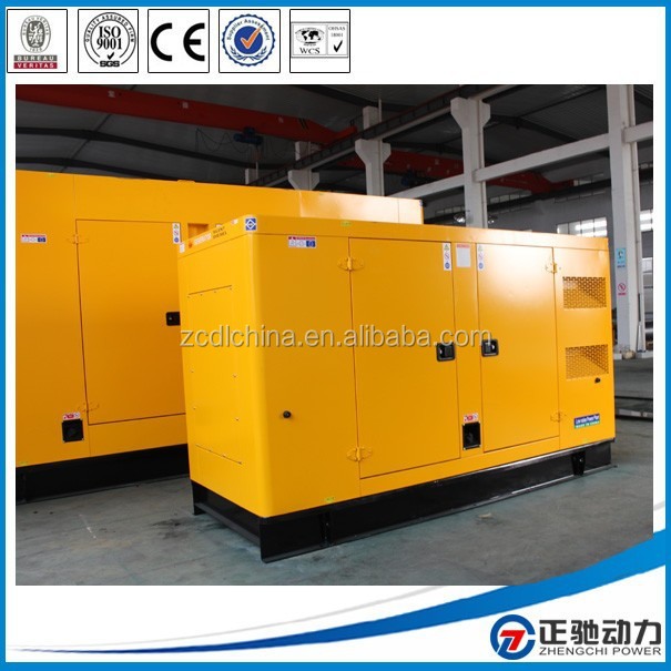Enclosed type 300 kva diesel generator with Cummins engine MTAA11-G3