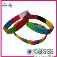 Cheap Custom Custom Qr Code Silicone Bracelet Band