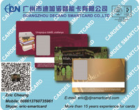 Plastic ID card with photo frame and barcode