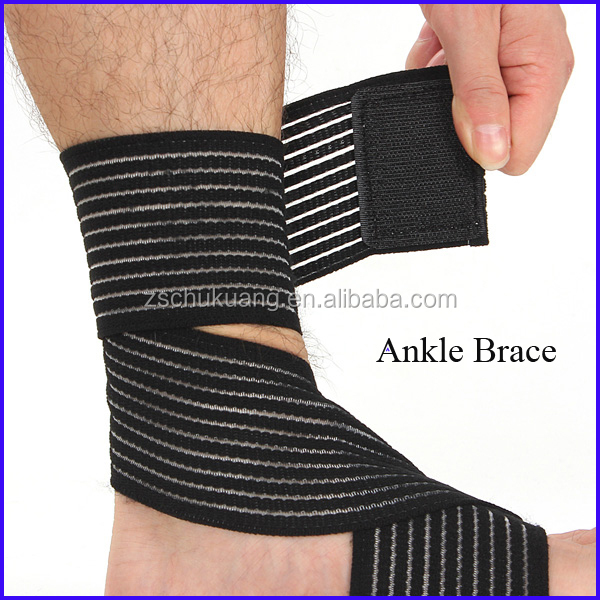 Knitted Elasticated Health Care Ankle Brace