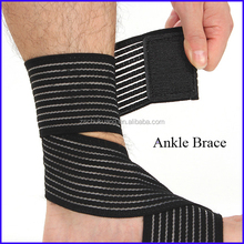 Knitted elastic health care neoprene ankle support adjustable flexible ankle brace