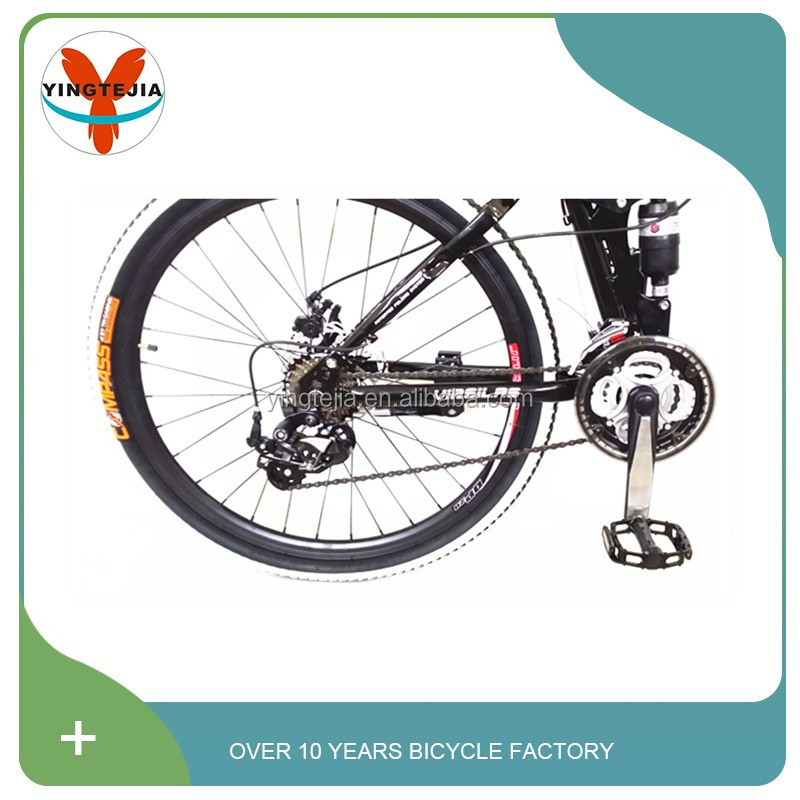 2016 Hot 26 size adult bycicle mountain bike with suspension made in China