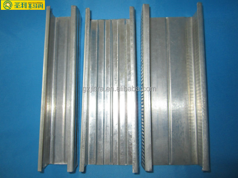 Galvanized steel stud track /drywall/building material to Middle east market /Australia/Malaysia made in China.