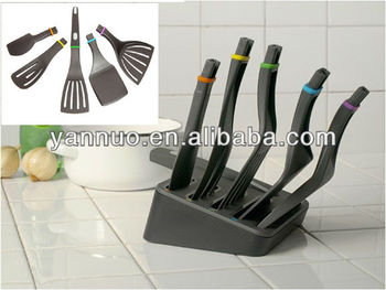 Love white nylon utensil set video