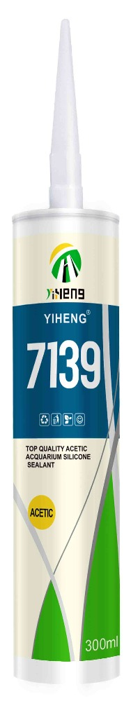 YIHENG 7139 Top quality acetic aquarium silicone sealant
