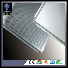 panel ceiling customized fireproof decorative material Lay in Aluminum ceiling panel in Ceiling Tiles