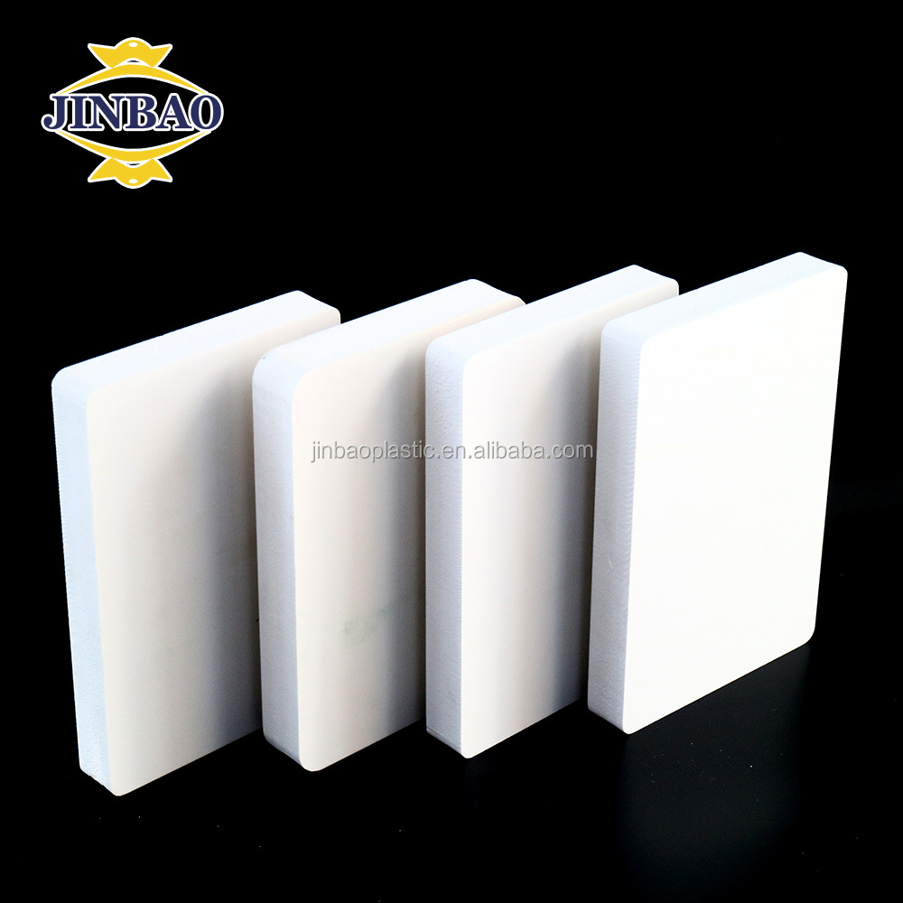 Jinbao 4x8 foam sheets pvc plastic board 2mm 5mm low weight export