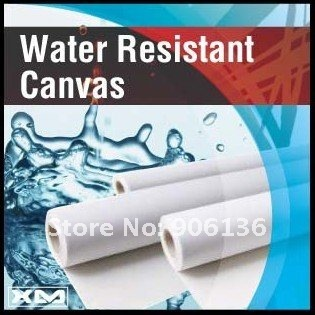 375GSM WATER RESITANT 100% COATED COTTON CANVAS FOR PRINTING