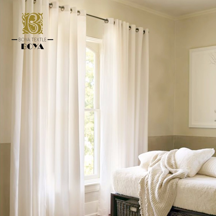 National Custom Size Linen Curtains